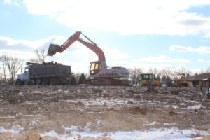 Commercial Building Excavation in Union Grove, WI
