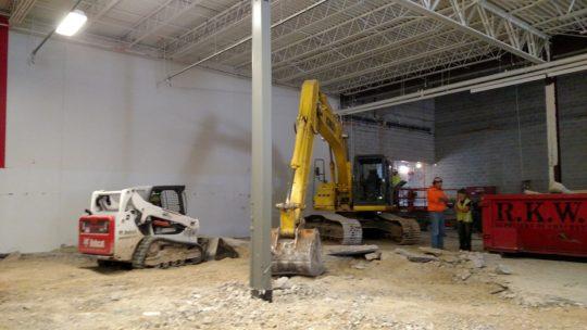 Floor & Decor Brookfield Concrete Slab Demo